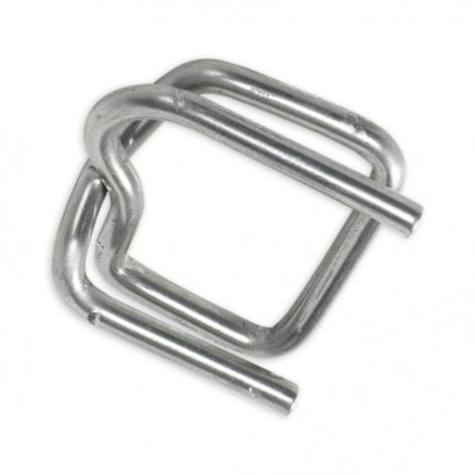 "Heavy-Duty 1/2"" Metal Buckles for Poly Strapping"