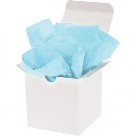 "Light Blue Tissue Paper Sheets, 20 X 30"""