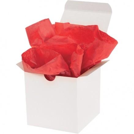 "Mandarin Red Tissue Paper Sheets, 20 X 30"""