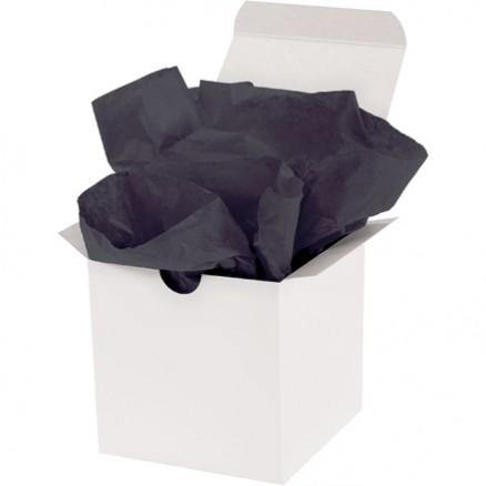 "Black Tissue Paper Sheets, 15 X 20"""