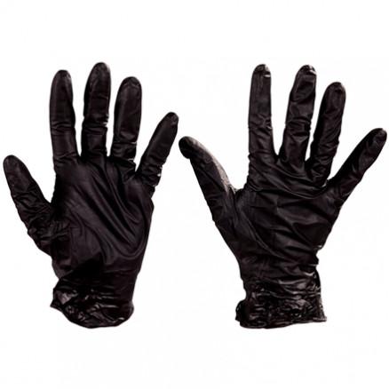 Best® Nighthawk™ Black Nitrile Gloves - 4 Mil - Small
