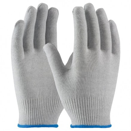 ESD Nylon Gloves - Uncoated, Large