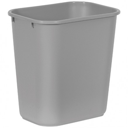 Rubbermaid® Office Trash Can - 3 Gallon, Gray