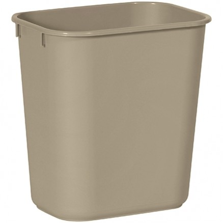 Rubbermaid® Office Trash Can - 3 Gallon, Beige