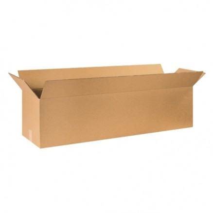 "Double Wall Corrugated Boxes, 60 x 12 x 12"", ECT"
