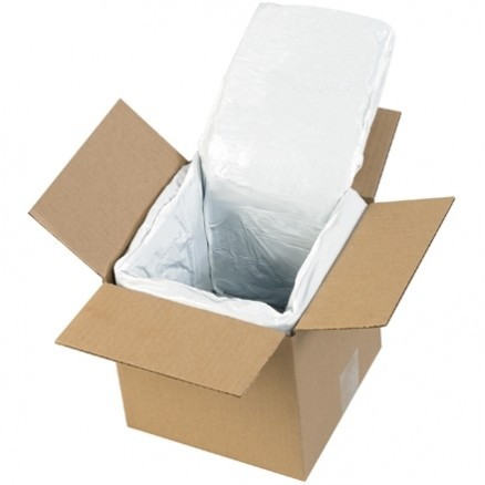 """Deluxe Insulated Box Liners, 6 X 6 X 6"""""""