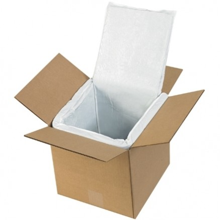 """Deluxe Insulated Box Liners, 8 X 8 X 8"""""""