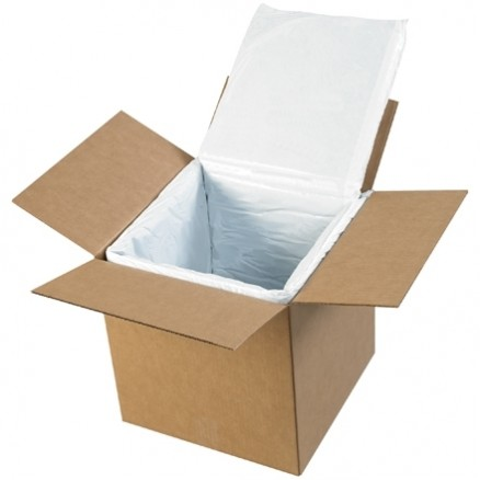 """Deluxe Insulated Box Liners, 12 X 12 X 12"""""""