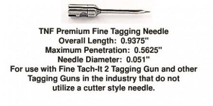 Premium Fine Tagging Needles