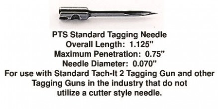 PTS Tagging Needles