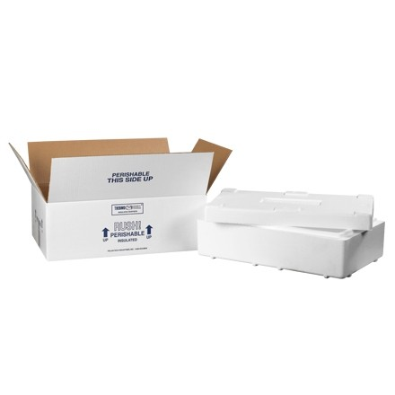 "19 1/2 x 11 1/2 x 4 1/8"" Insulated Shipping Kits"