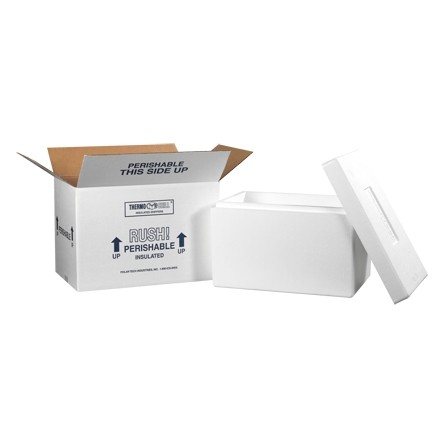 "17 x 10 x 10 1/2"" Insulated Shipping Kits"