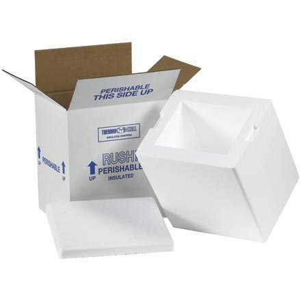 """8 x 6 x 9"""" Insulated Shipping Kits"""