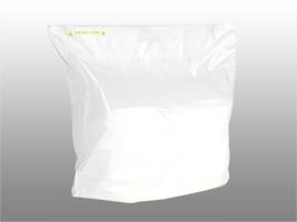 Fast Take® Tamper-Evident Unprinted Carryout Bag, 24 x 20 + 11 BG + 3 1/2 LP