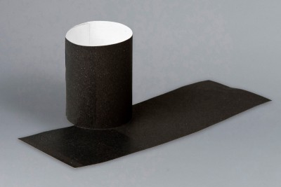 Black Paper Napkin Rings, 4 1/4 x 1 1/2