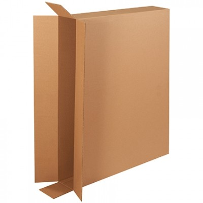 Corrugated Boxes, Side Loading, Double Wall, 44 x 6 x 35