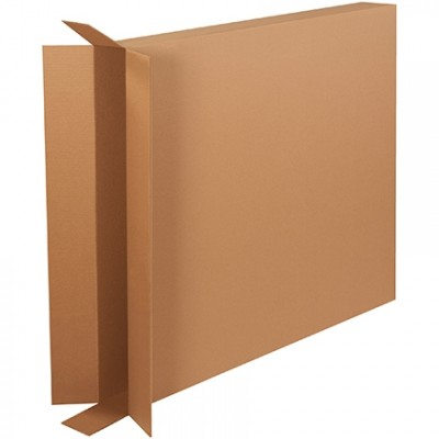 Corrugated Boxes, Side Loading, Double Wall, 40 x 5 x 45