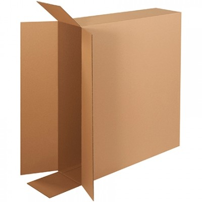 Corrugated Boxes, Side Loading, Double Wall, 36 x 8 x 30