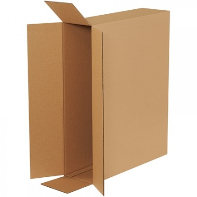 Corrugated Boxes, Side Loading, 26 x 6 x 20