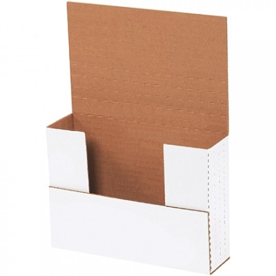 Easy-Fold Mailers, White, 7 1/2 x 5 1/2