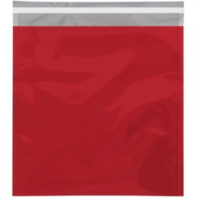 Glamour Mailers, Flat, Metallic Red, 10 3/4 x 13