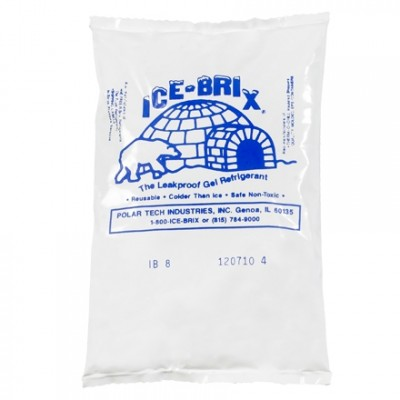 Ice-Brix™  8 oz. Cold Packs - 6 X 4 X 3/4