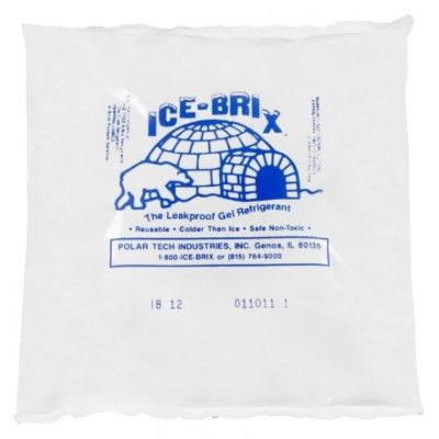 Ice-Brix™ 12 oz. Cold Packs - 6 X 5 3/4 X 1