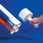 Película extensible manual para empaquetado resistente, calibre 100, 5
