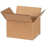 Cajas de Corrugado, 6 x 4 x 3