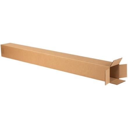 """Cajas de Corrugado, 4 x 4 x 50 """", Kraft"""