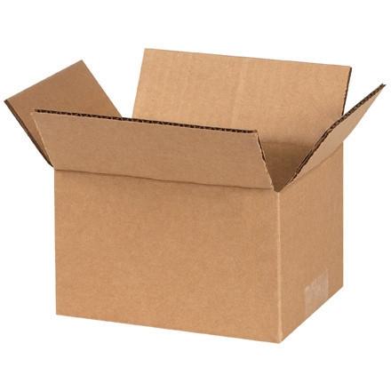 """Cajas de Corrugado, 6 x 4 x 3 """", Kraft"""
