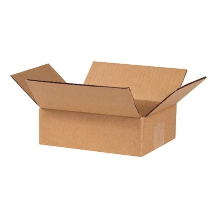 """Cajas de Corrugado, 6 x 4 x 2 """", Kraft"""