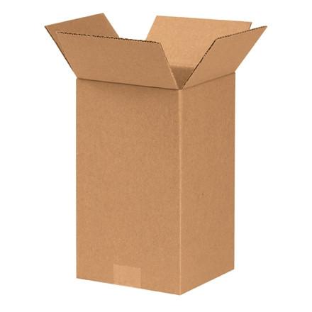 """Cajas de Corrugado, 7 x 7 x 12 """", Kraft"""