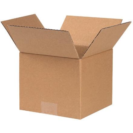 """Cajas de Corrugado, 7 x 7 x 6 """", Kraft"""
