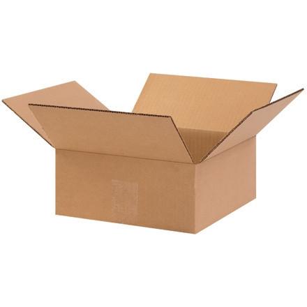 """Cajas de Corrugado, 6 x 6 x 2 """", Kraft, Planas"""