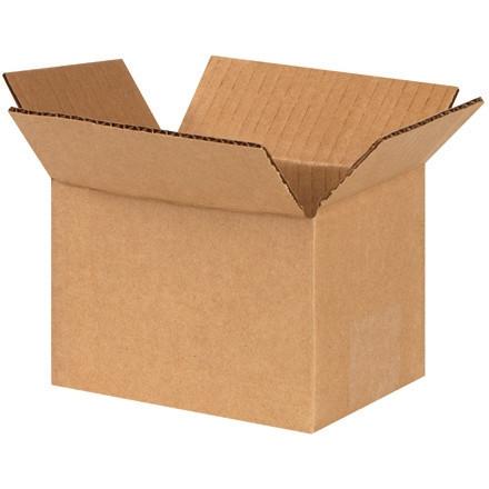 """Cajas de Corrugado, 6 x 4 x 4 """", Kraft"""