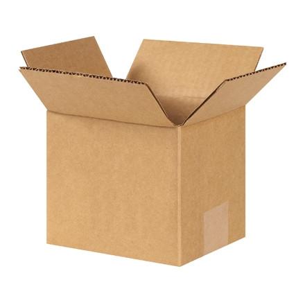 """Cajas de Corrugado, 6 x 5 x 5 """", Kraft"""