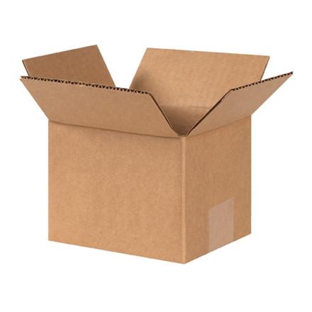 """Cajas de Corrugado, 6 x 5 x 4 """", Kraft"""