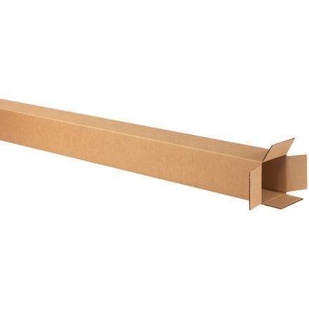 """Cajas de Corrugado, 5 x 5 x 60 """", Kraft"""