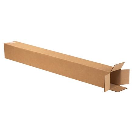"""Cajas de Corrugado, 5 x 5 x 36 """", Kraft"""