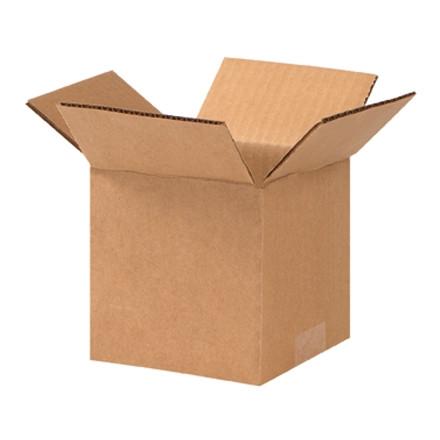 """Cajas de Corrugado, 5 x 5 x 5 """", Cubo"""