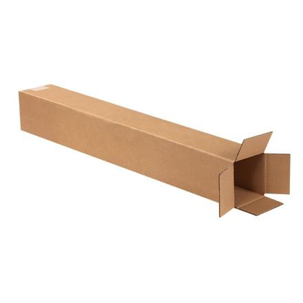 """Cajas de Corrugado, 4 x 4 x 28 """", Kraft"""