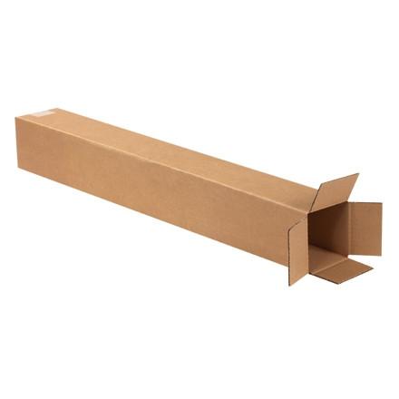 """Cajas de Corrugado, 4 x 4 x 32 """", Kraft"""
