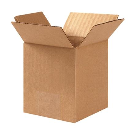 """Cajas de Corrugado, 4 x 4 x 6 """", Kraft"""