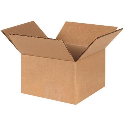 """Cajas de Corrugado, 4 x 4 x 3 """", Kraft"""