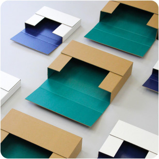 Mailer personalizado Easy Fold - Cerrado