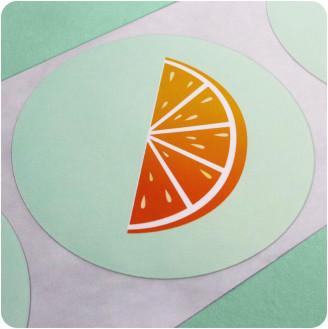 Etiquetas personalizadas circulares: diseñe las suyas ahora